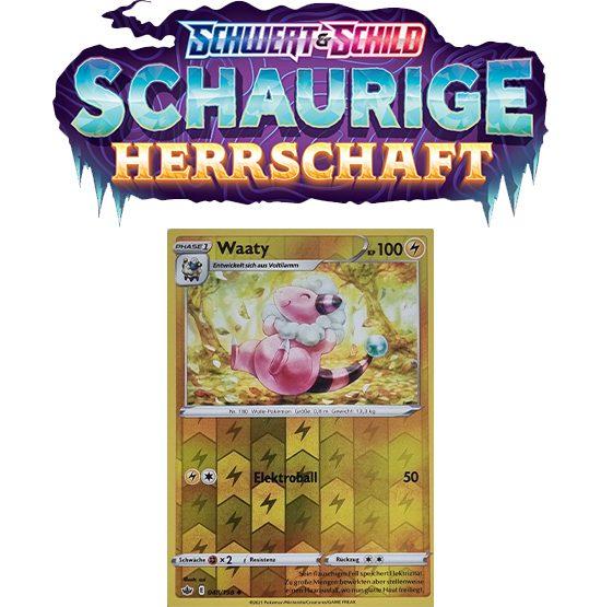 Pokémon Schaurige Herrschaft 048/198 Waaty REVERSE HOLO