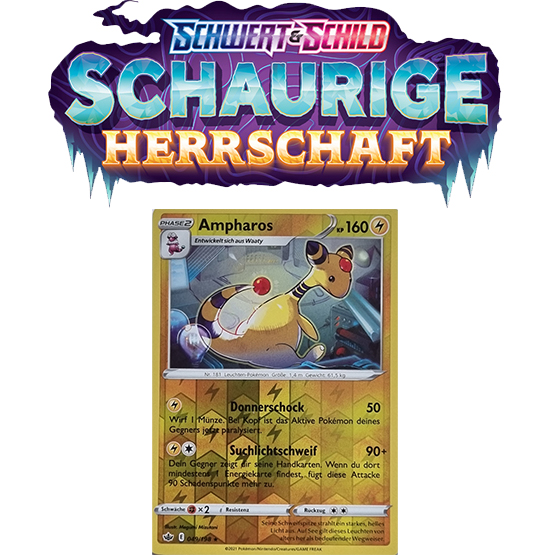 Pokémon Schaurige Herrschaft 049/198 Ampharos REVERSE HOLO