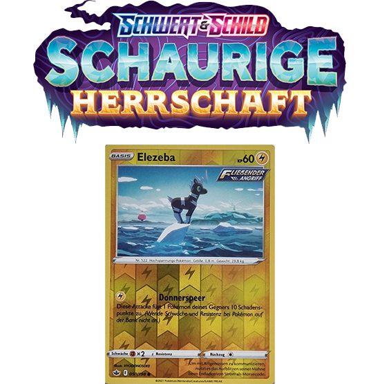 Pokémon Schaurige Herrschaft 050/198 Elezeba REVERSE HOLO