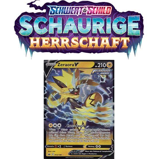 Pokémon Schaurige Herrschaft 053/198 Zeraora-V
