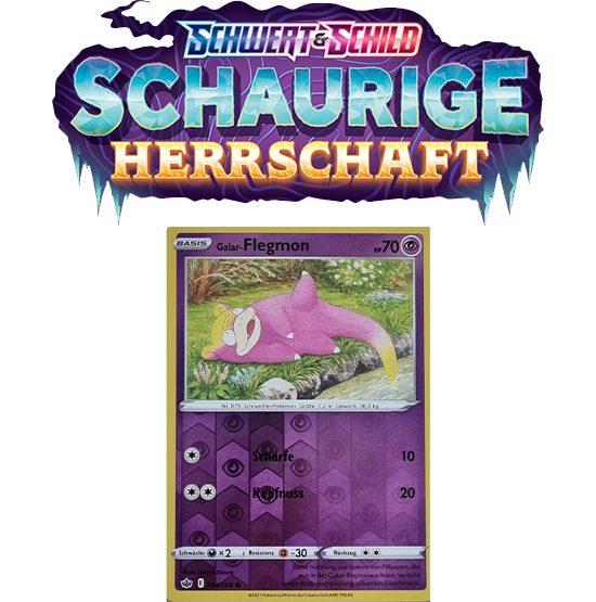 Pokémon Schaurige Herrschaft 054/198 Galar-Flegmon REVERSE HOLO