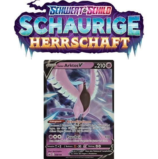 Pokémon Schaurige Herrschaft 058/198 Galar-Arktos-V