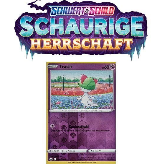Pokémon Schaurige Herrschaft 059/198 Trasla REVERSE HOLO