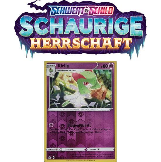 Pokémon Schaurige Herrschaft 060/198 Kirlia REVERSE HOLO