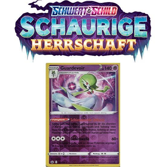 Pokémon Schaurige Herrschaft 061/198 Guardevoir REVERSE HOLO