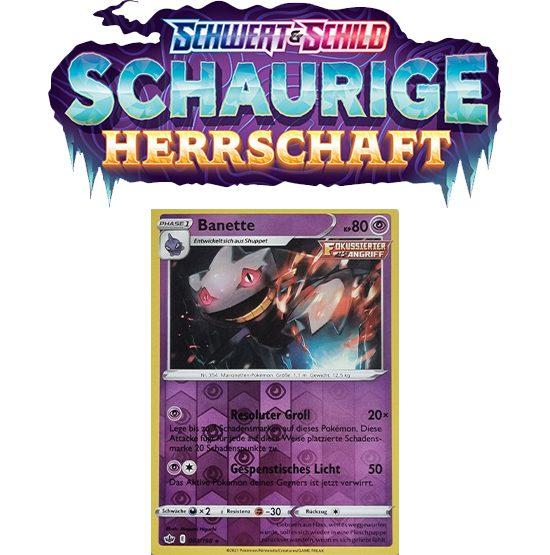 Pokémon Schaurige Herrschaft 063/198 Banette REVERSE HOLO