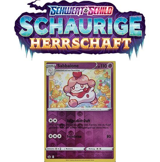 Pokémon Schaurige Herrschaft 068/198 Sabbaione REVERSE HOLO