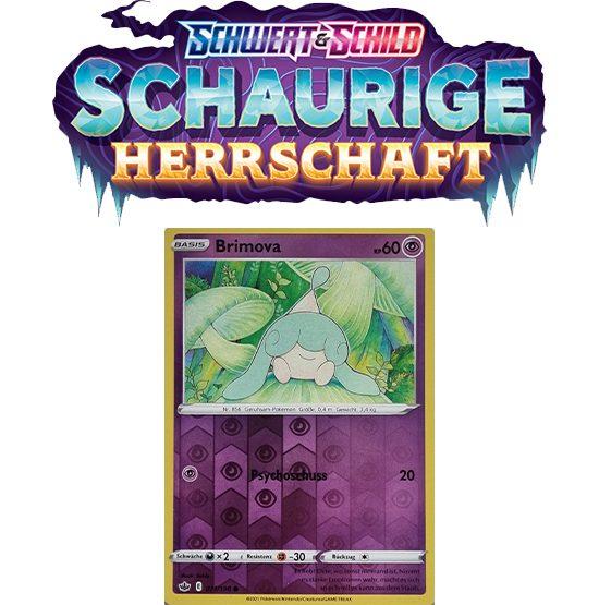 Pokémon Schaurige Herrschaft 071/198 Brimova REVERSE HOLO