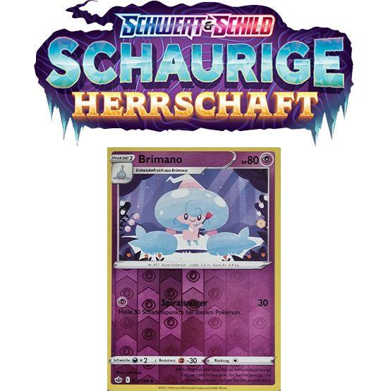 Pokémon Schaurige Herrschaft 072/198 Brimano REVERSE HOLO