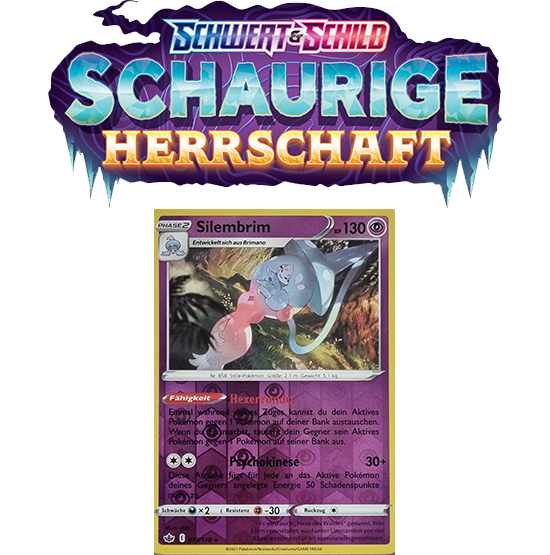 Pokémon Schaurige Herrschaft 073/198 Silembrim REVERSE HOLO
