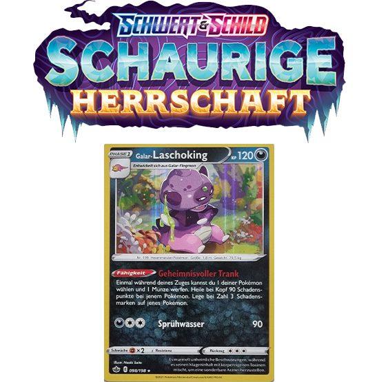 Pokémon Schaurige Herrschaft 098/198 Galar-Laschoking HOLO