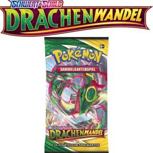 Pokémon Schwert und Schild Drachenwandel 1x Booster