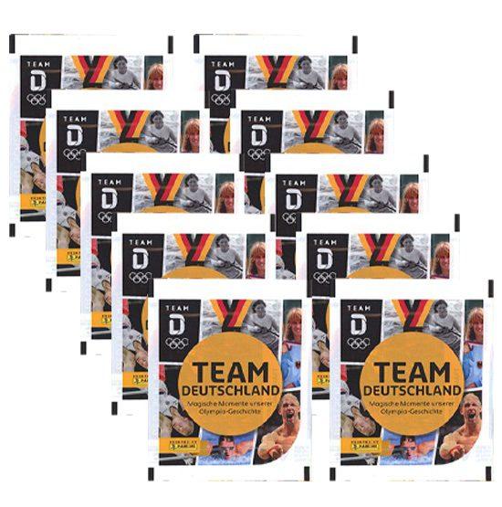 Panini Team Deutschland 2021 Sticker - 10 x Stickertüten