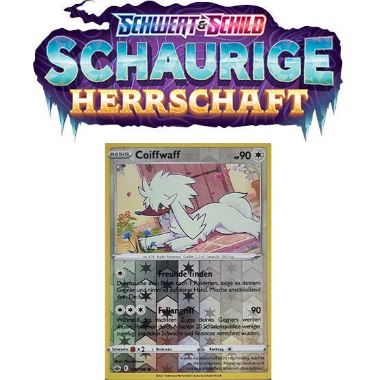 Pokémon Schaurige Herrschaft 126/198 Coiffwaff REVERSE HOLO