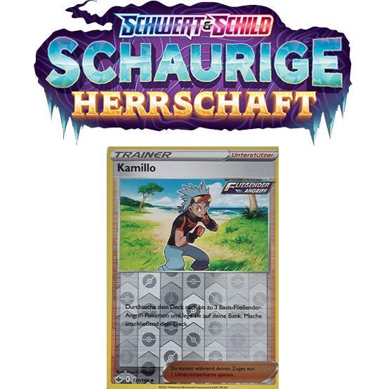 Pokémon Schaurige Herrschaft 131/198 Kamillo REVERSE HOLO