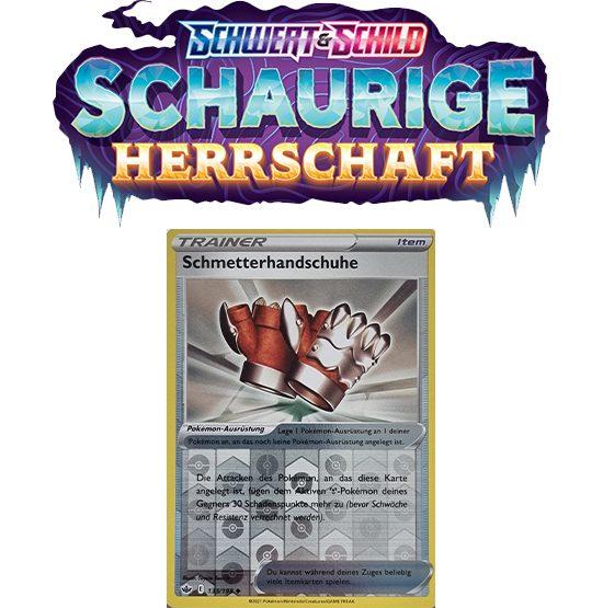 Pokémon Schaurige Herrschaft 133/198 Schmetterhandschuhe REVERSE HOLO