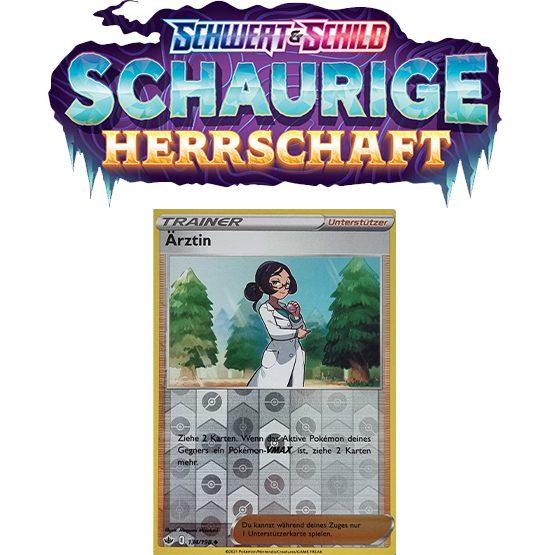 Pokémon Schaurige Herrschaft 134/198 Ärztin REVERSE HOLO