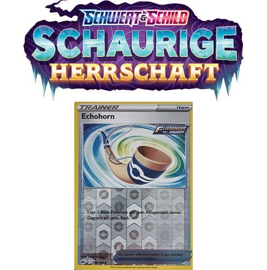 Pokémon Schaurige Herrschaft 136/198 Echohorn REVERSE HOLO
