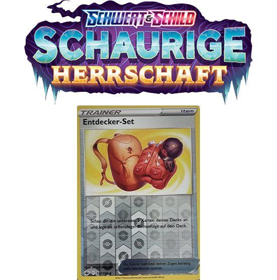 Pokémon Schaurige Herrschaft 137/198 Entdecker-Set REVERSE HOLO