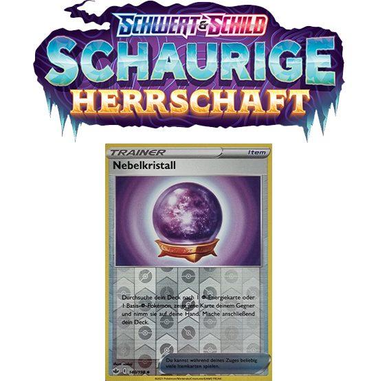 Pokémon Schaurige Herrschaft 140/198 Nebelkristall REVERSE HOLO