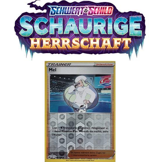 Pokémon Schaurige Herrschaft 146/198 Mel REVERSE HOLO