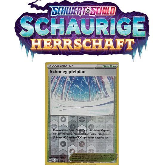 Pokémon Schaurige Herrschaft 148/198 Schneegipfelpfad REVERSE HOLO