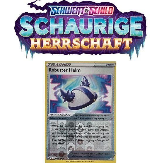 Pokémon Schaurige Herrschaft 152/198 Robuster Helm REVERSE HOLO
