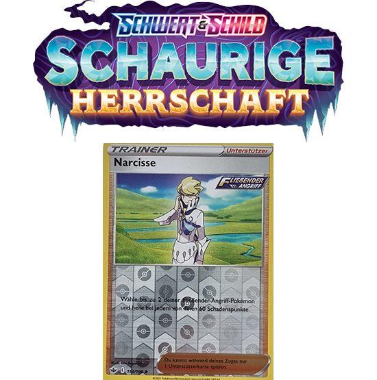 Pokémon Schaurige Herrschaft 153/198 Narcisse REVERSE HOLO