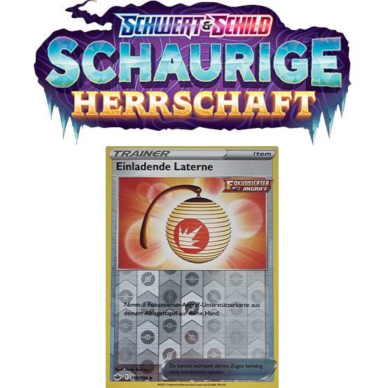 Pokémon Schaurige Herrschaft 156/198 Einladende Laterne REVERSE HOLO