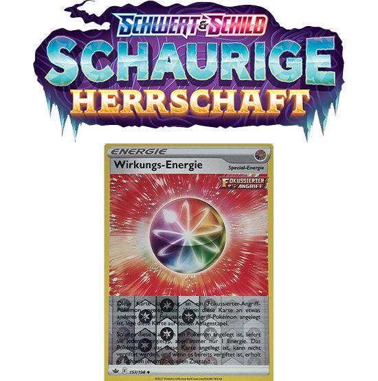 Pokémon Schaurige Herrschaft 157/198 Wirkungs-Energie REVERSE HOLO