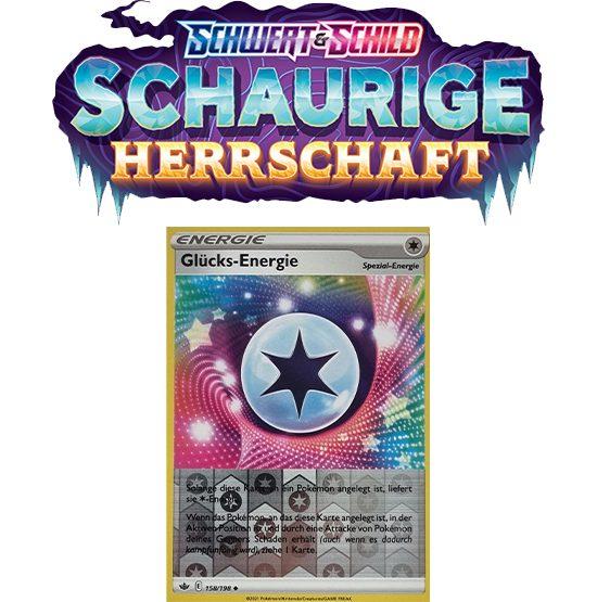 Pokémon Schaurige Herrschaft 158/198 Glücks-Energie REVERSE HOLO