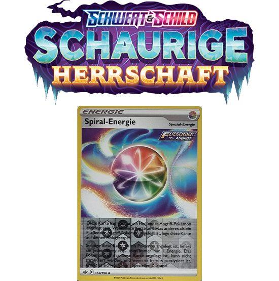 Pokémon Schaurige Herrschaft 159/198 Spiral-Energie REVERSE HOLO