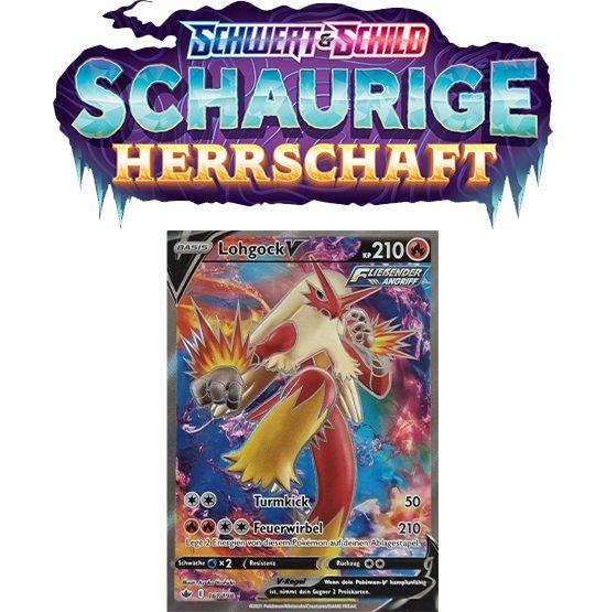 Pokémon Schaurige Herrschaft 161/198 Lohgock-V FULLART