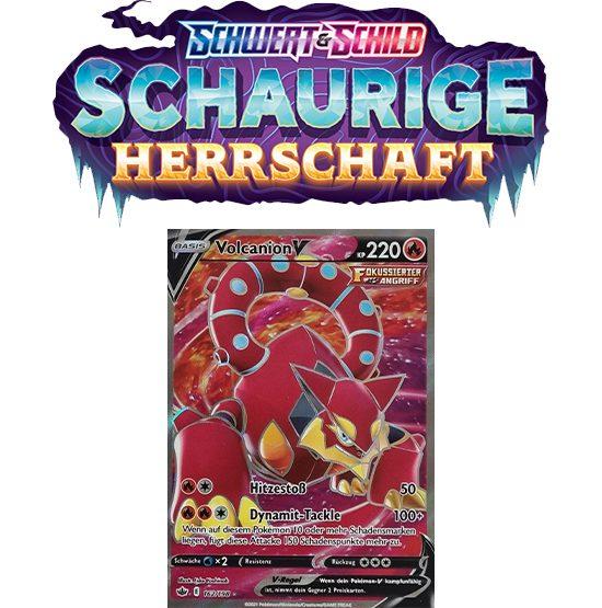 Pokémon Schaurige Herrschaft 162/198 Volcanion-V FULLART