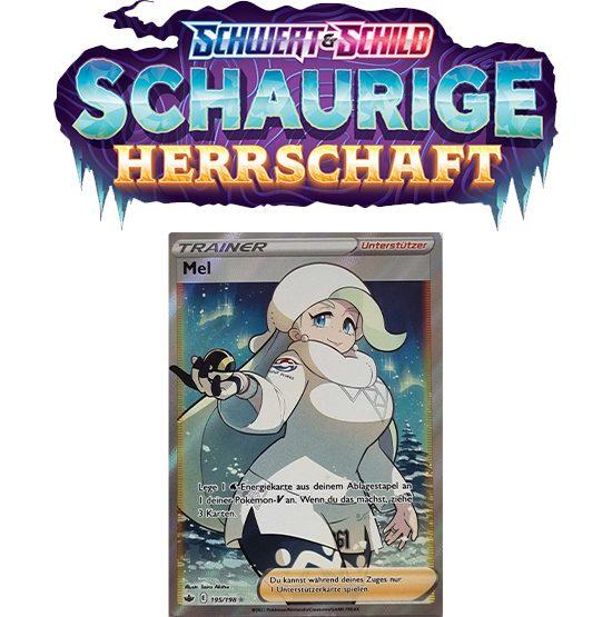 Pokémon Schaurige Herrschaft 195/198 Mel FULLART