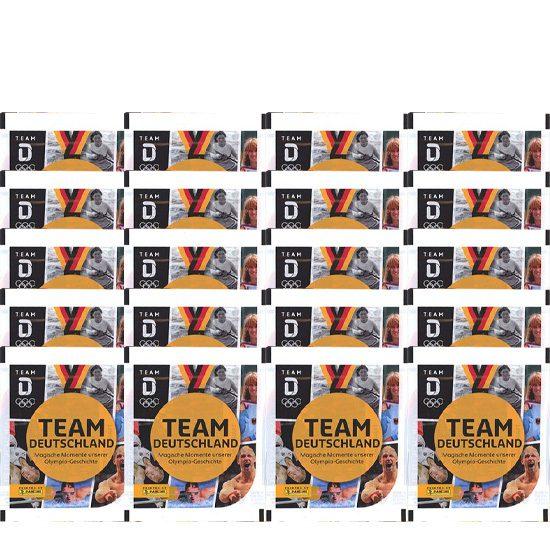Panini Team Deutschland 2021 Sticker - 20x Stickertüten