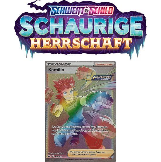 Pokémon Schaurige Herrschaft 212/198 Kamillo RAINBOW