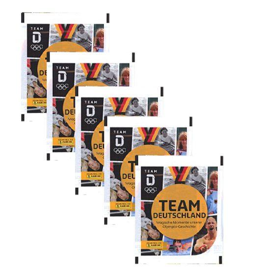 Panini Team Deutschland 2021 Sticker - 5 x Stickertüten