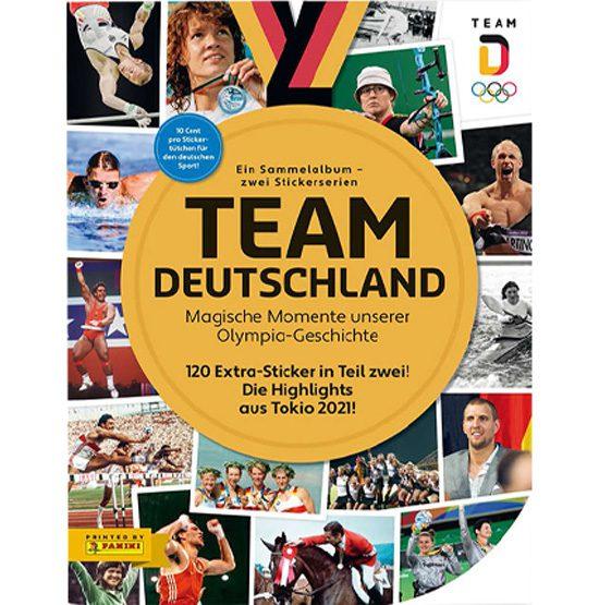 Panini Team Deutschland 2021 Sticker Sammelalbum