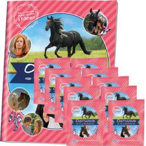 Ostwind Das große Finale Sticker - Sammelalbum + 10x Tüten