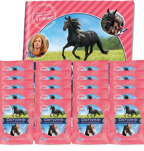 Ostwind Das große Finale Sticker - Sammelalbum + 20x Stickertüten