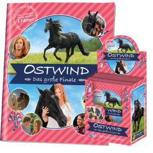 Ostwind Das große Finale Sticker - Sammelalbum + 1x Display