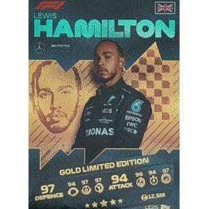Turbo Attax 2021 LE2G Lewis Hamilton