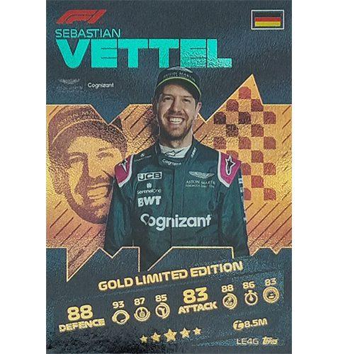 Turbo Attax 2021 LE4G Sebastian Vettel