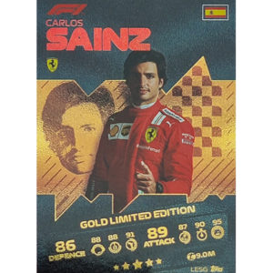 Turbo Attax 2021 LE5G Carlos Sainz