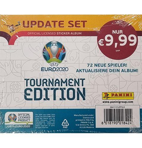 Panini EURO 2020 Tournament Edition Sticker UPDATE SET