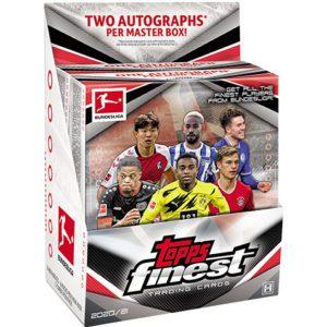 Topps Bundesliga Finest Trading Cards 2020/21 Hobby Box