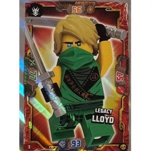 Lego Ninjago Serie 6 Trading Cards Nr 003 Legacy Lloyd