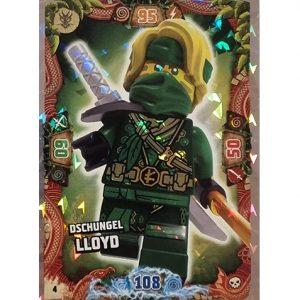 Lego Ninjago Serie 6 Trading Cards Nr 004 Dschungel Lloyd