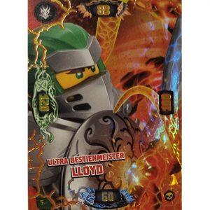 Lego Ninjago Serie 6 Trading Cards Nr 005 Ultra Bestienmeister Lloyd